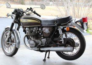昔のバイク450