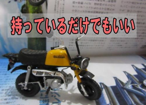 持っているだけでいいバイク